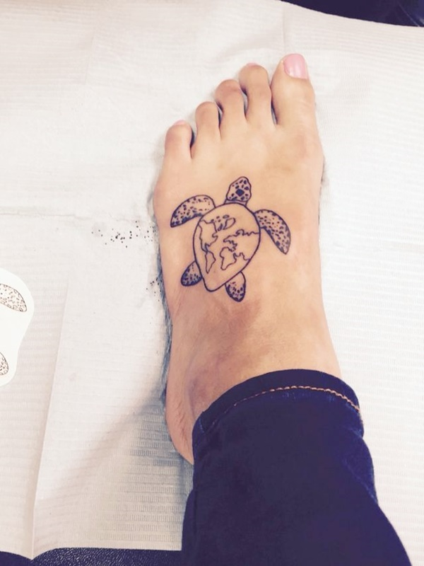 Beautiful Example Of Sea Turtle Tattoo With Their Meanings