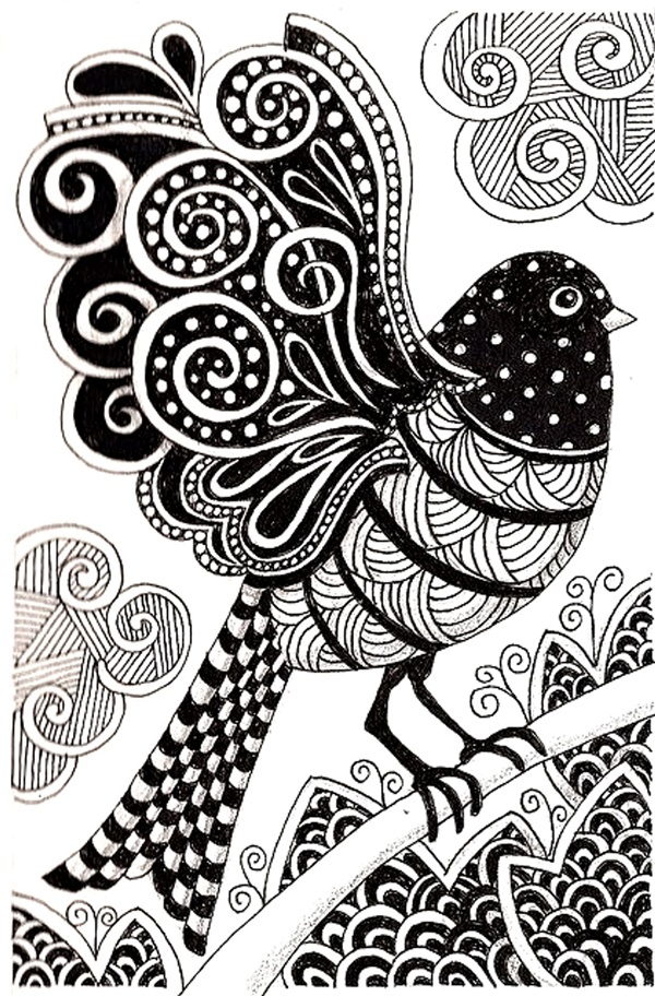 Amazing Examples of Animal Doodle Art to try