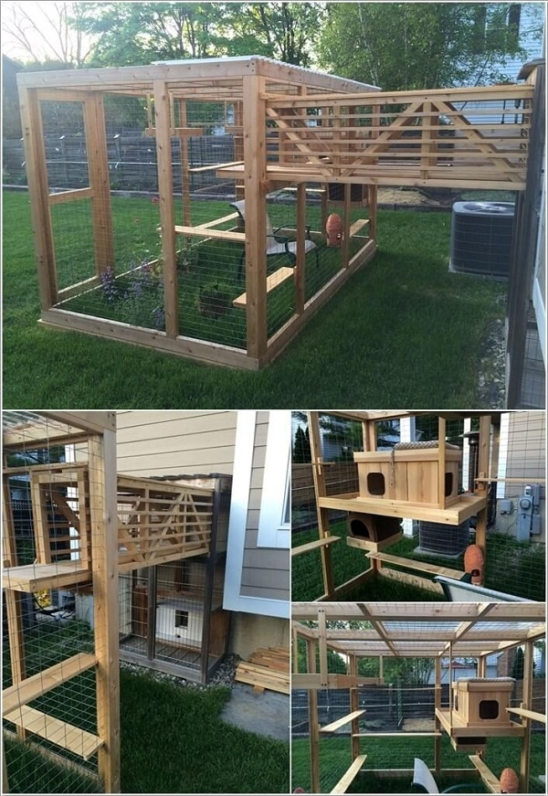Perfect DIY Ideas to make cat Cage